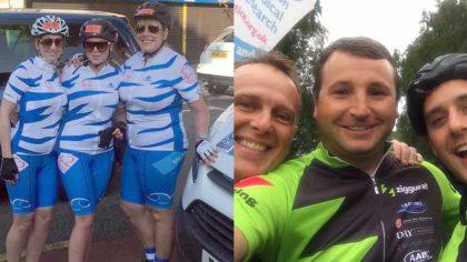 Blu-3 Team - Brighton Charity Bike Ride