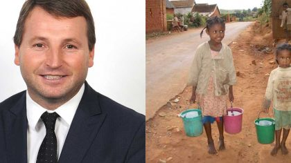 Chaney - Patron, Integrated Water Resources International Charity