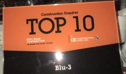 BLU-3 AWARDED PRIZE BY CONSTRUCTION ENQUIRER