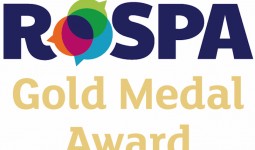BLU-3 AWARDED 9th ROSPA GOLD MEDAL AWARD FOR HEALTH AND SAFETY PRACTICES